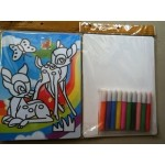 Children's Sand Painting Art